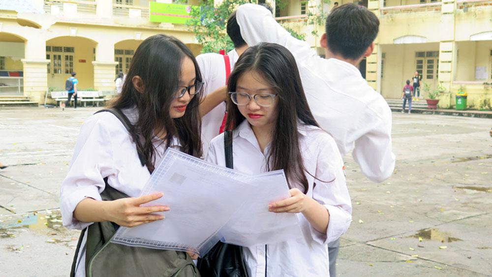 Bộ Giáo dục và Đào tạo sẽ không công bố đáp án ngay sau khi thi xong